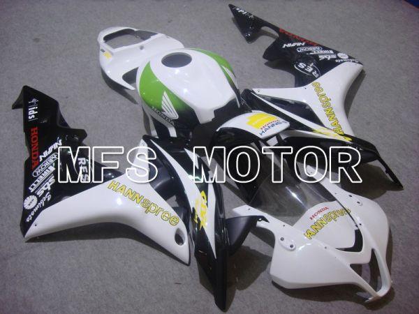 Honda CBR600RR 2007-2008 Injection ABS Fairing - HANN Spree - Black White - MFS5639
