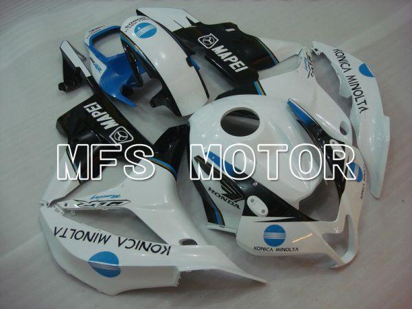Honda CBR600RR 2007-2008 Injection ABS Fairing - Konica Minolta - Black White - MFS5657