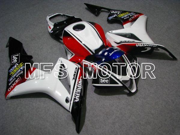 Honda CBR600RR 2007-2008 Injection ABS Fairing - CARRERA - Black White Red - MFS5665