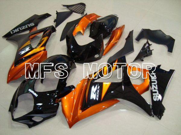 Suzuki GSXR1000 2007-2008 Injection ABS Fairing - Factory Style - Black Orange - MFS5675