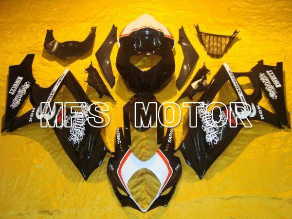 Suzuki GSXR1000 2007-2008 Injection ABS Fairing - Beacon - Black White - MFS5680