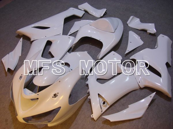 Kawasaki NINJA ZX6R 2005-2006 Injection ABS Fairing - Factory Style - White - MFS5681