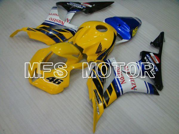 Honda CBR600RR 2007-2008 Injection ABS Fairing - Nastro Azzurro - Yellow Blue - MFS5686