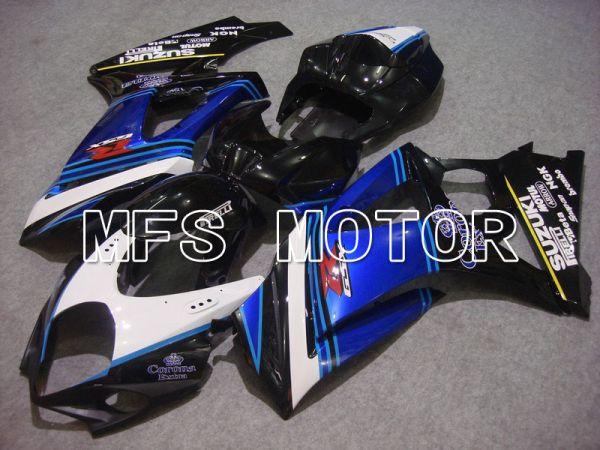 Suzuki GSXR1000 2007-2008 Injection ABS Fairing - Corona - Black White Blue - MFS5687