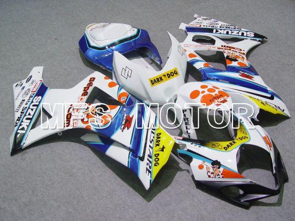 Suzuki GSXR1000 2007-2008 Injection ABS Fairing - Dark Dog - White Blue - MFS5691