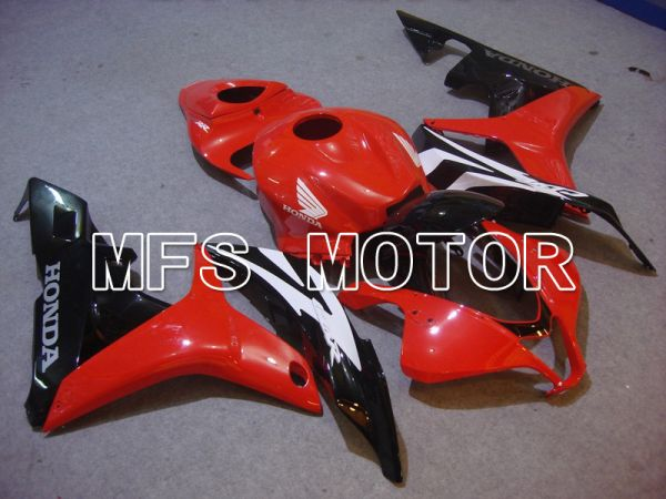 Honda CBR600RR 2007-2008 Injection ABS Fairing - Factory Style - Black Red - MFS5700