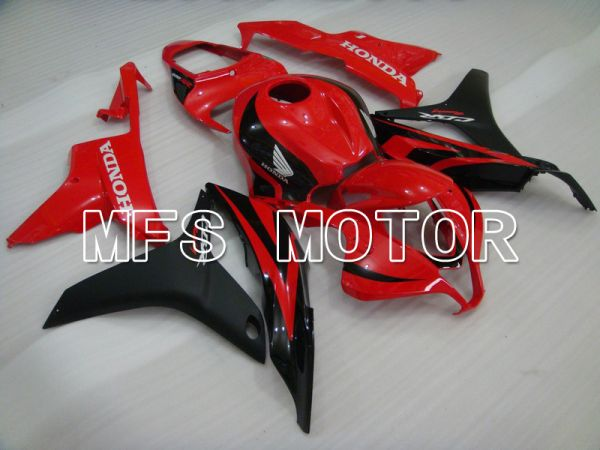 Honda CBR600RR 2007-2008 Injection ABS Fairing - Factory Style - Black Red - MFS5702