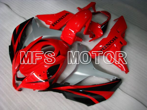 Honda CBR600RR 2007-2008 Injection ABS Fairing - Factory Style - Black Red - MFS5704