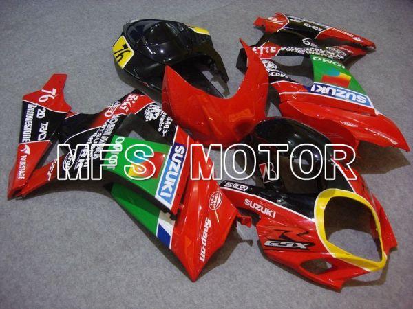 Suzuki GSXR1000 2007-2008 Injection ABS Fairing - JOMO - Green Red - MFS5707