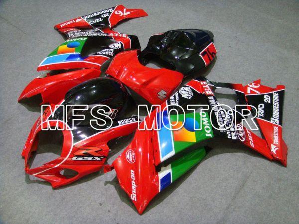 Suzuki GSXR1000 2007-2008 Injection ABS Fairing - JOMO - Green Red - MFS5708
