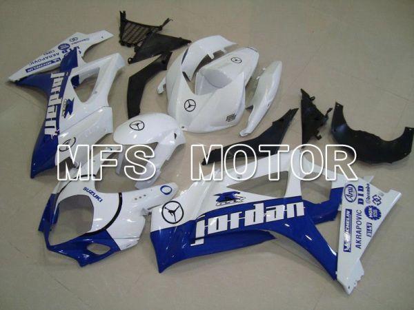 Suzuki GSXR1000 2007-2008 Injection ABS Fairing - Jordan - White Blue - MFS5711