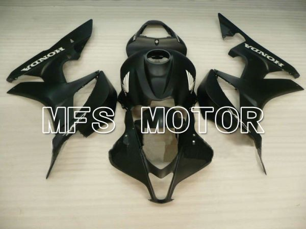 Honda CBR600RR 2007-2008 Injection ABS Fairing - Factory Style - Black Matte - MFS5713