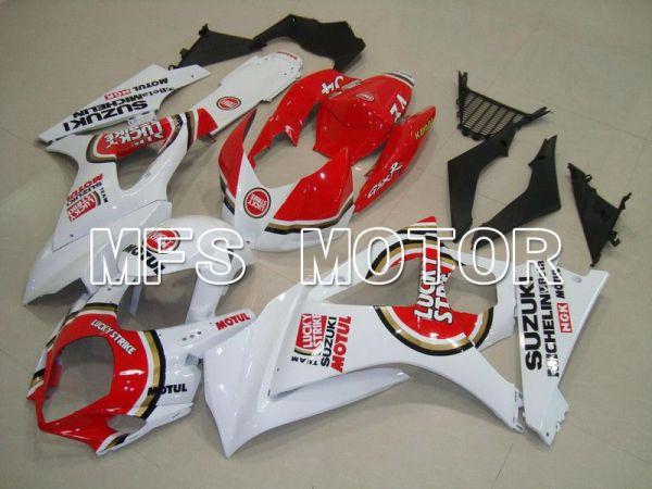 Suzuki GSXR1000 2007-2008 Injection ABS Fairing - Lucky Strike - Red White - MFS5715