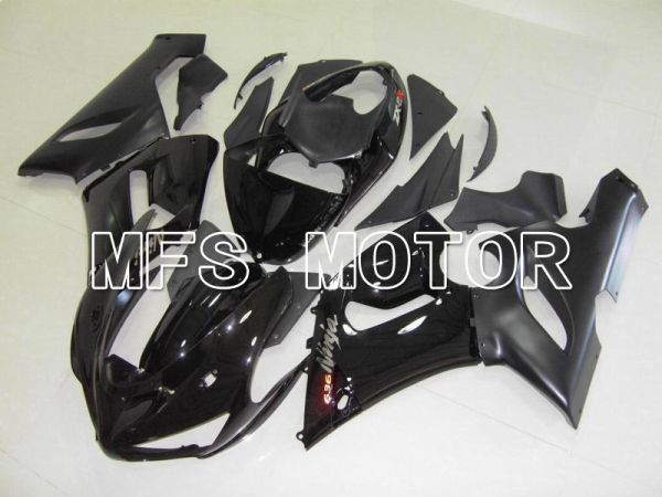 Kawasaki NINJA ZX6R 2005-2006 Injection ABS Fairing - Factory Style - Black - MFS5725