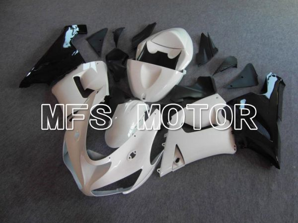 Kawasaki NINJA ZX6R 2005-2006 Injection ABS Fairing - Factory Style - White - MFS5726