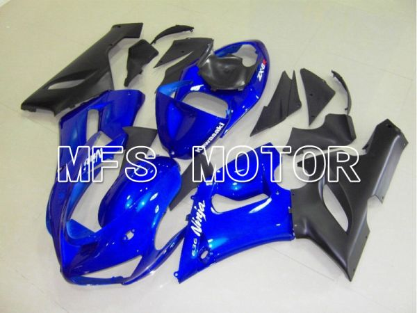 Kawasaki NINJA ZX6R 2005-2006 Injection ABS Fairing - Factory Style - Blue - MFS5728