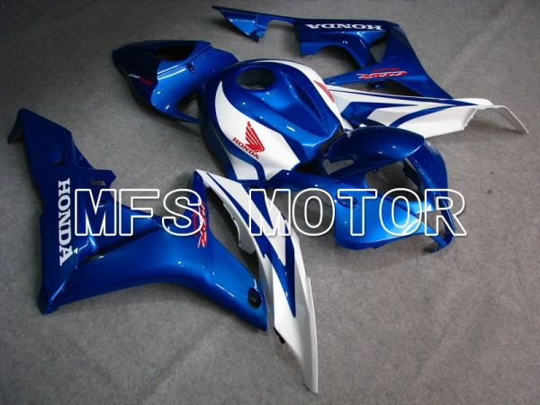 Honda CBR600RR 2007-2008 Injection ABS Fairing - Factory Style - Blue White - MFS5757