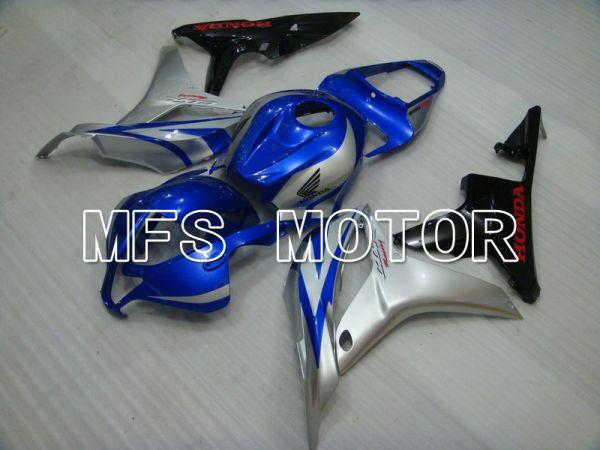 Honda CBR600RR 2007-2008 Injection ABS Fairing - Factory Style - Blue Silver - MFS5758