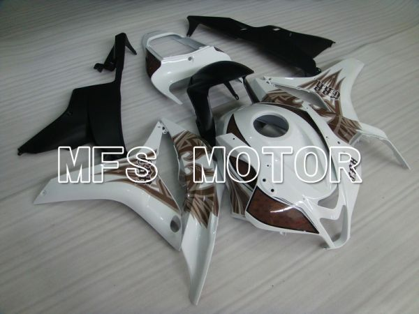 Honda CBR600RR 2007-2008 Injection ABS Fairing - Others - Brown White - MFS5768