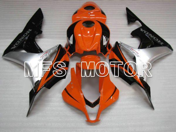 Honda CBR600RR 2007-2008 Injection ABS Fairing - Factory Style - Black Orange - MFS5775