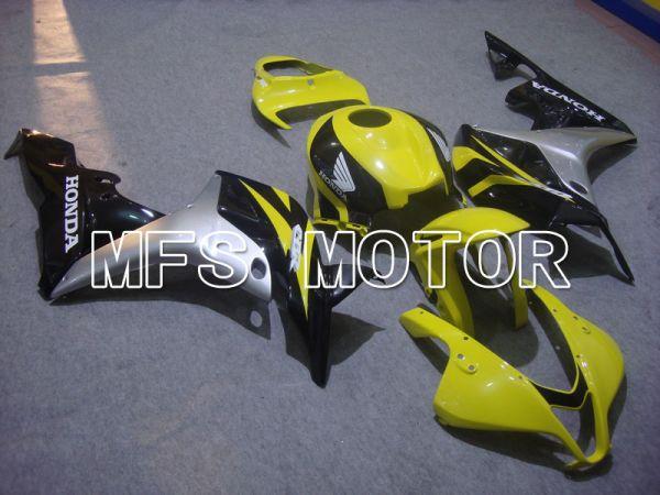 Honda CBR600RR 2007-2008 Injection ABS Fairing - Factory Style - Black Yellow - MFS5776