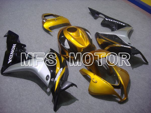 Honda CBR600RR 2007-2008 Injection ABS Fairing - Factory Style - Black Gold - MFS5777