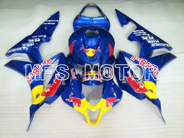 Honda CBR600RR 2007-2008 Injection ABS Fairing - Red Bull - Blue Yellow - MFS5789