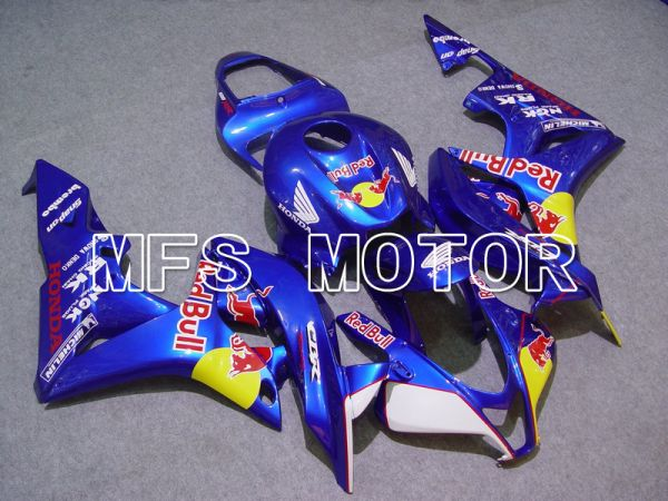 Honda CBR600RR 2007-2008 Injection ABS Fairing - Red Bull - Blue Yellow - MFS5790