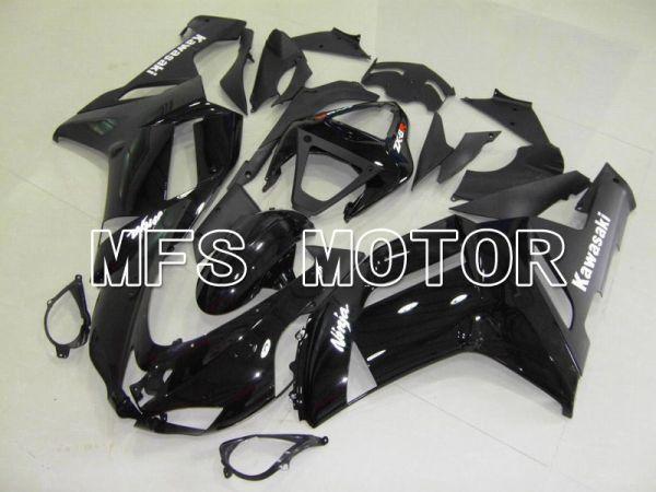 Kawasaki NINJA ZX6R 2007-2008 Injection ABS Fairing - Factory Style - Black - MFS5795
