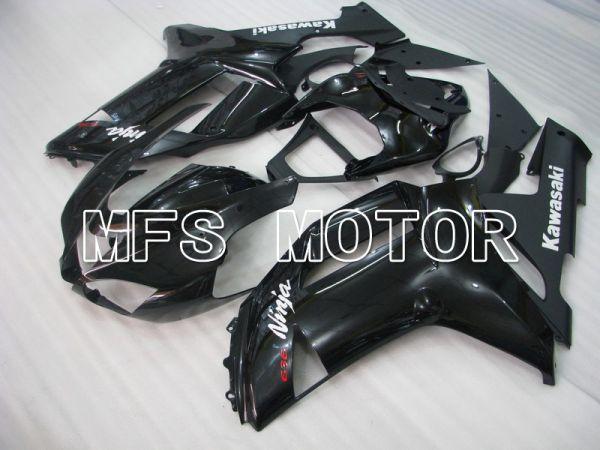 Kawasaki NINJA ZX6R 2007-2008 Injection ABS Fairing - Factory Style - Black - MFS5796