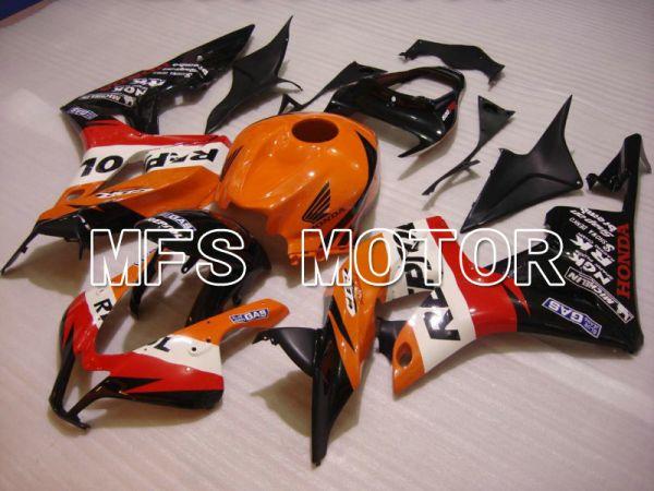Honda CBR600RR 2007-2008 Injection ABS Fairing - Repsol - Black Red Orange - MFS5804