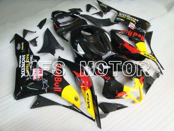 Honda CBR600RR 2007-2008 Injection ABS Fairing - Red Bull - Black Yellow - MFS5819