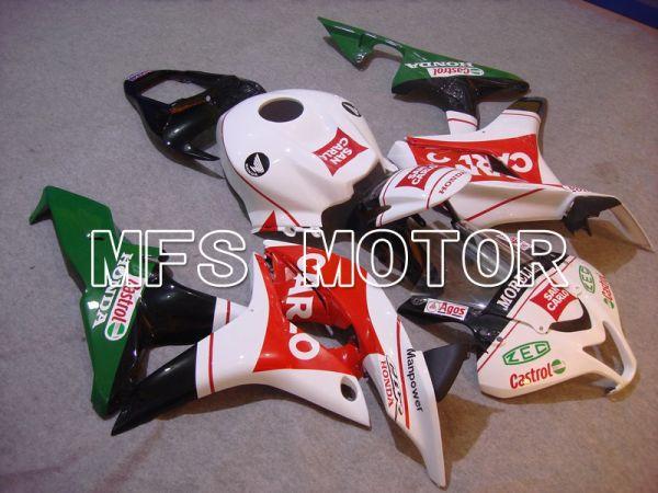Honda CBR600RR 2007-2008 Injection ABS Fairing - San Carlo - White Red - MFS5825