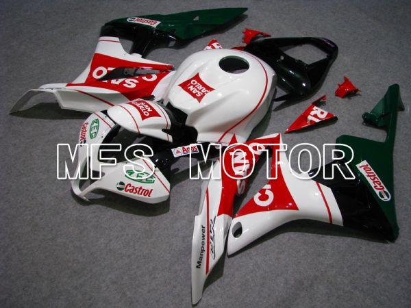 Honda CBR600RR 2007-2008 Injection ABS Fairing - San Carlo - White Red - MFS5826