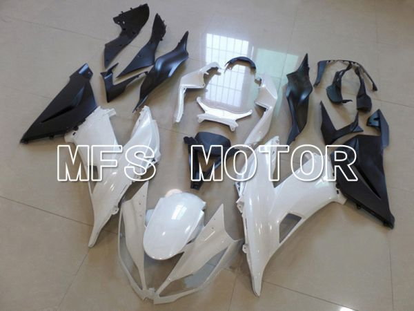 Kawasaki NINJA ZX6R 2013-2017 Injection ABS Fairing - Factory Style - Black White - MFS5844