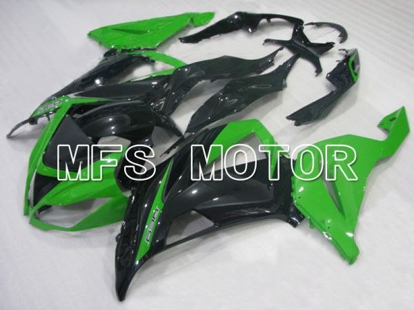 Kawasaki NINJA ZX6R 2013-2017 Injection ABS Fairing - Factory Style - Black Green - MFS5846