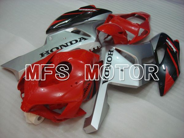Honda CBR1000RR 2004-2005 Injection ABS Fairing - Factory Style - Red Sikver Black - MFS5848