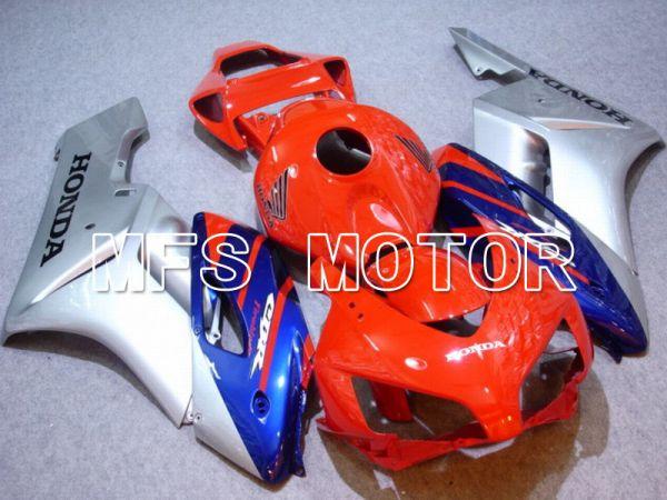Honda CBR1000RR 2004-2005 Injection ABS Fairing - Factory Style - Orange Blue Silver - MFS5853