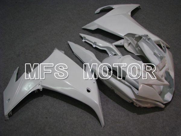 Yamaha FZ6R 2009 ABS Fairing - Factory Style - White - MFS5858