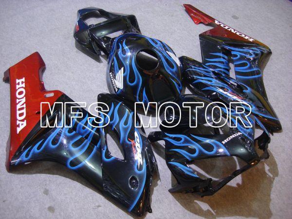 Honda CBR1000RR 2004-2005 Injection ABS Fairing - Flame - Blue Black - MFS5872