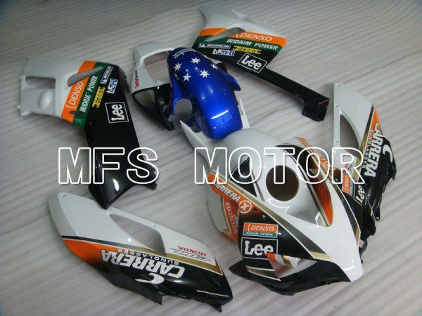 Honda CBR1000RR 2004-2005 Injection ABS Fairing - Eurobet - Orange White Black - MFS5892