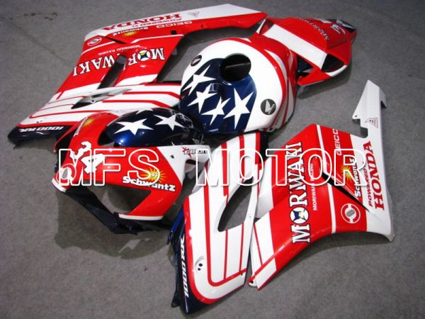 Honda CBR1000RR 2004-2005 Injection ABS Fairing - Moriwaki - Red White - MFS5902