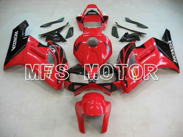 Honda CBR1000RR 2004-2005 Injection ABS Fairing - Factory Style - Red Black - MFS5921