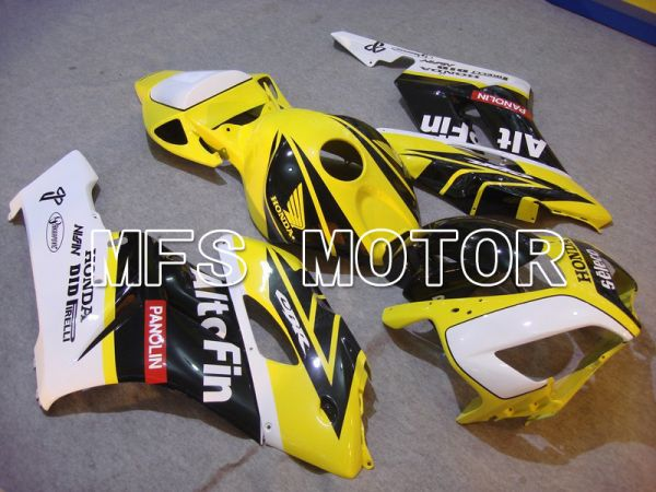 Honda CBR1000RR 2004-2005 Injection ABS Fairing - AltoFin - White Black Yellow - MFS5935