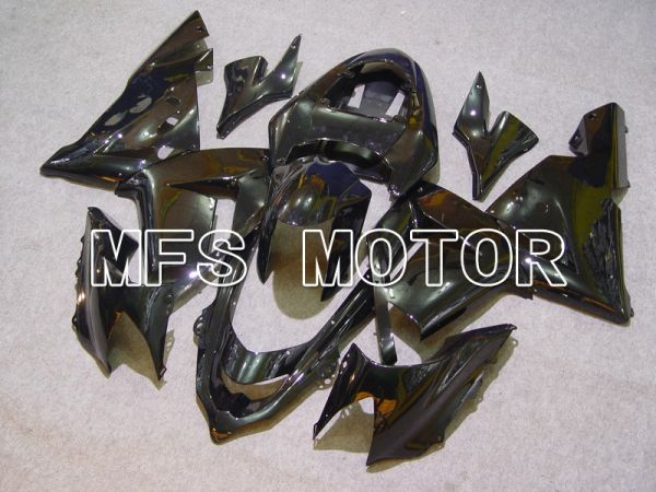 Kawasaki NINJA ZX10R 2004-2005 Injection ABS Fairing - Factory Style - Black - MFS5938