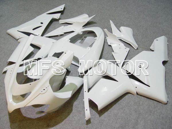 Kawasaki NINJA ZX10R 2004-2005 Injection ABS Fairing - Factory Style - White - MFS5939