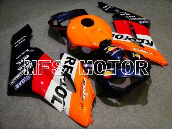 Honda CBR1000RR 2004-2005 Injection ABS Fairing - Repsol - Red Orange Black - MFS5949