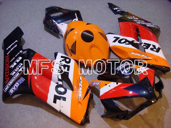 Honda CBR1000RR 2004-2005 Injection ABS Fairing - Repsol - Red Orange Black - MFS5950