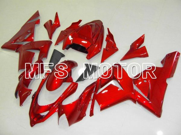Kawasaki NINJA ZX10R 2004-2005 Injection ABS Fairing - Factory Style - Red - MFS5956