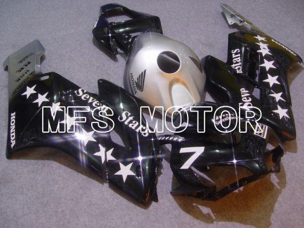 Honda CBR1000RR 2004-2005 Injection ABS Fairing - SevenStars -Silver Black - MFS5968